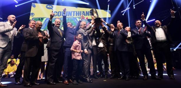 Corinthians comemora título do Campeonato Paulista