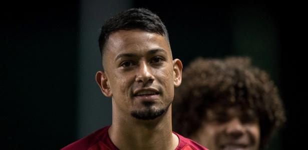 Lucca, do Internacional, tem lesão no púbis e desfalca o time por um mês - Pedro Vale/AGIF