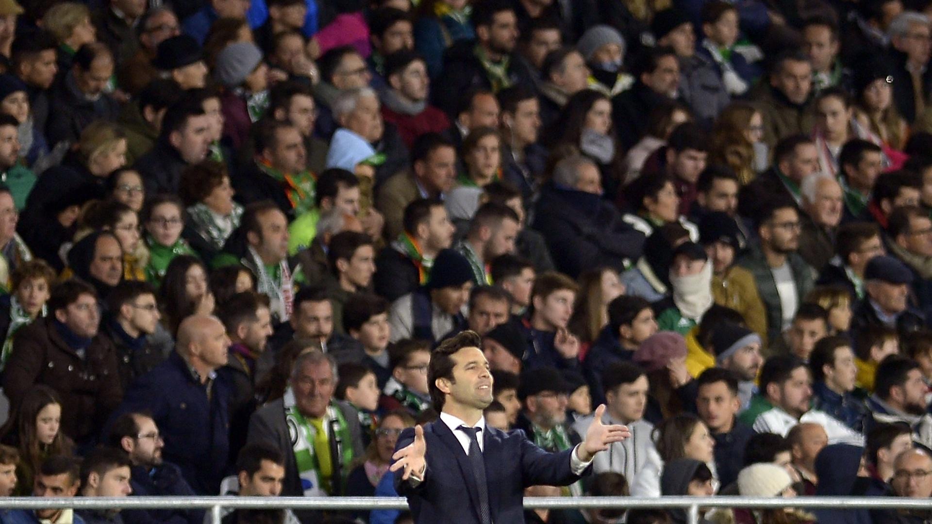 Santiago Solari, técnico do Real Madrid