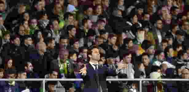 Santiago Solari, técnico do Real Madrid - Cristina Quicler/AFP - Cristina Quicler/AFP