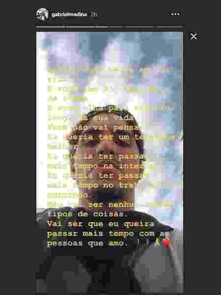 Gabriel Medina venceu a primeira etapa na temporada na última sexta - Reprodução/Instagram