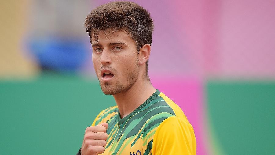 João Menezes durante os Jogos Pan-Americanos de Lima - Alexandre Loureiro/COB