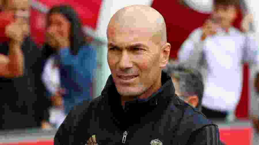 Zinedine Zidane reafirmou confiança no elenco e desconversou sobre reforços - REUTERS/Leonhard Foeger