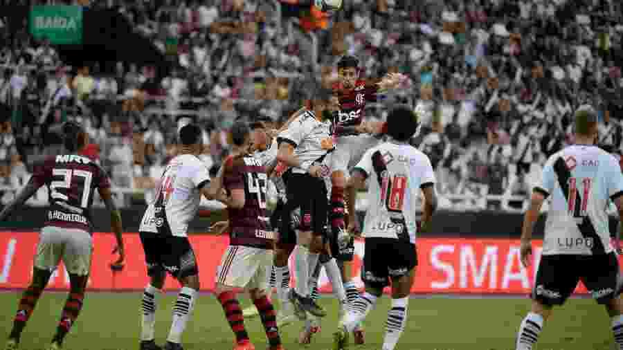 Vasco e Flamengo se enfrentarão pelo segundo ano consecutivo em Brasília pelo Brasileiro - Alexandre Vidal / Site oficial do Flamengo