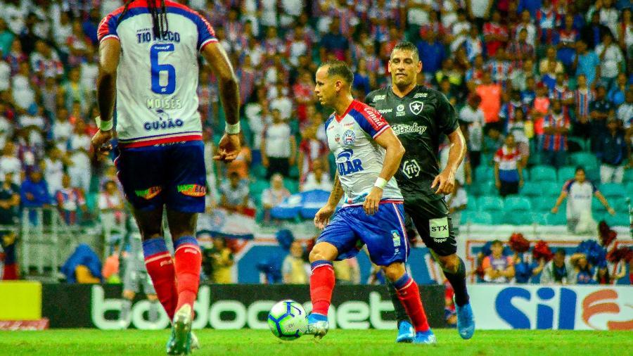 Guerra, durante partida entre Bahia e Botafogo - Jhony Pinho/AGIF