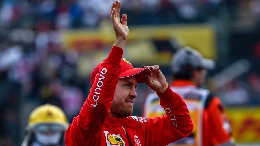 Sebastian Vettel vai deixar a Ferrari no final deste ano - Pedro Pardo/AFP