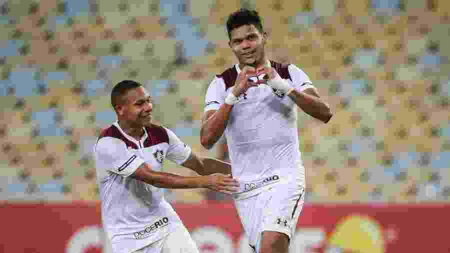 Evanílson marcou o gol do Fluminense no clássico contra o Vasco - Lucas Merçon/Fluminense FC