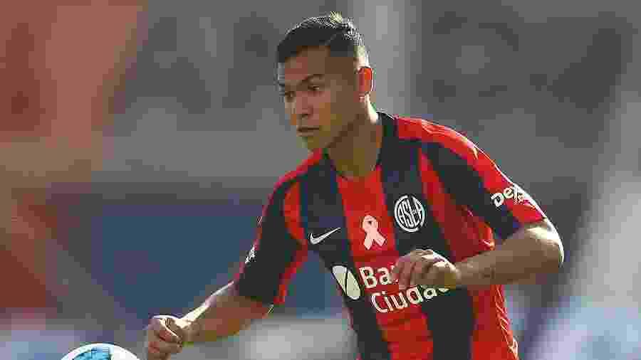 Andres Herrera, jogador do San Lorenzo - Chris Brunskill/Fantasista/Getty Images