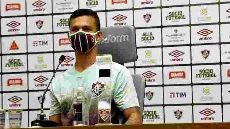 Calegari estreou como profissional pelo Fluminense em amistoso contra o Botafogo - Mailson Santana/Fluminense FC - Mailson Santana/Fluminense FC