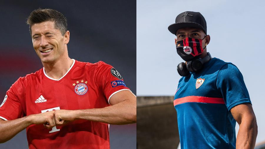 Bayern de Munique e Sevilla se enfrentam pela Supercopa da Europa de 2020 - Getty Images