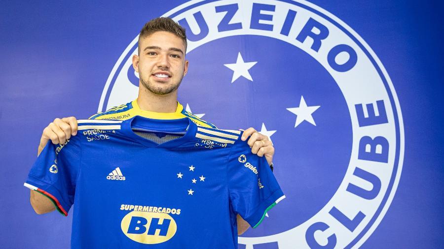 Guilherme Bissoli, de 23 anos, chega emprestado pelo Athletico-PR até o fim de 2021 - Igor Sales/Cruzeiro