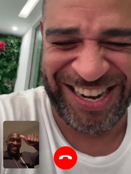 Adriano Imperador parabeniza Lukaku por título do Campeonato Italiano com a Inter de Milão - Instagram