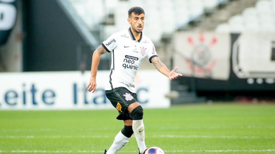 Camacho em ação pelo Corinthians, na Neo Química Arena - Rodrigo Coca/Agência Corinthians