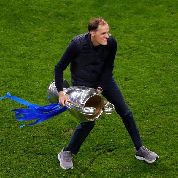 Thomas Tuchel, técnico do Chelsea, usou tênis como amuleto da sorte na final da Champions League