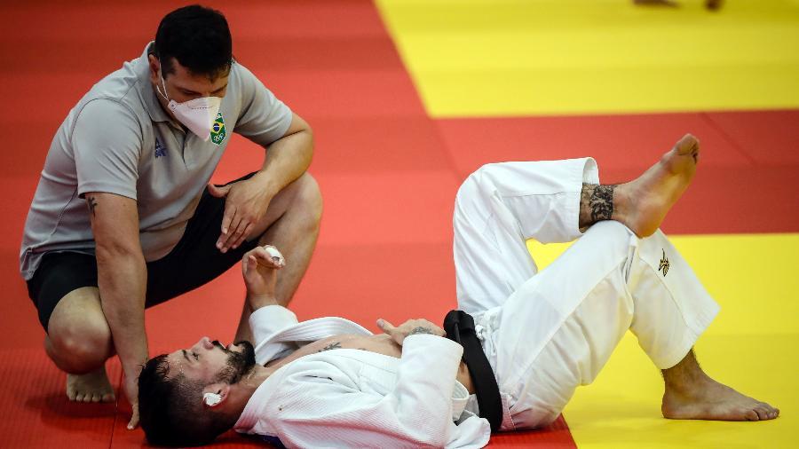 Judô brasileiro treina em isolamento total em Hamamatsu - Gaspar Nóbrega/COB