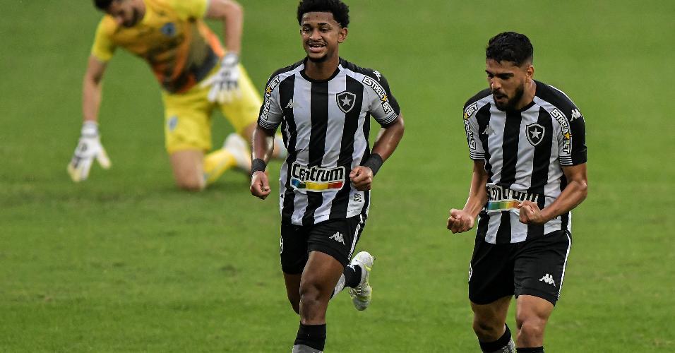 Diego Borges marcou o seu primeiro gol com a camisa do Botafogo