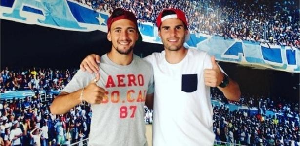 Amigos de longa data, Arrascaeta e Gino serão companheiros também na sala de aula