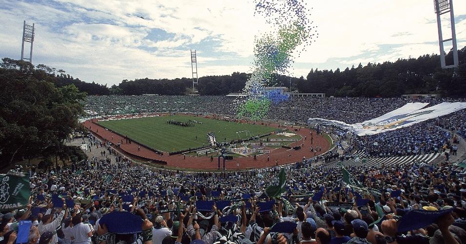 Estádio Nacional, na região de Lisboa, em Portugal
