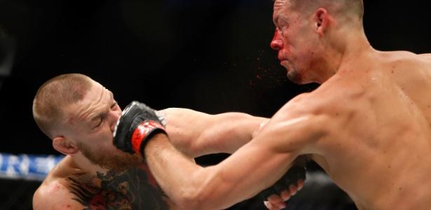 McGregor venceu Nate Diaz por pontos neste sábado (20) - Steve Marcus/Getty Images