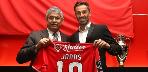 Jonas está no Benfica desde 2014 e já é ídolo da torcida