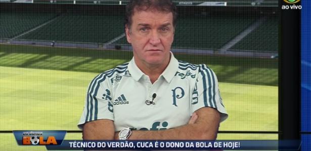 Cuca deu entrevista para o programa Donos da Bola - Reprodução