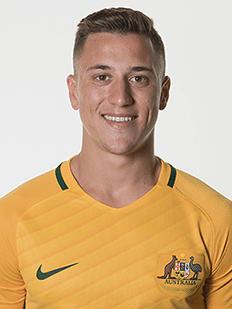 Alex Gersbach, lateral-esquerdo da Austrália