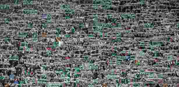 Torcida do Rapid Vienna durante amistoso contra o Chelsea - Matej Divizna/Getty Images