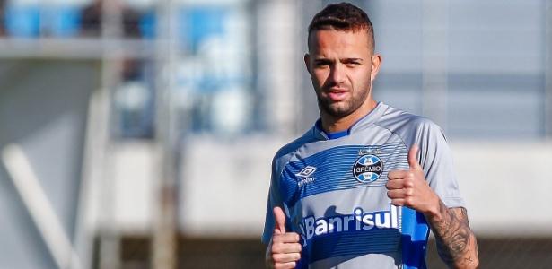 Luan preocupa o Grêmio para partida contra o Barcelona pela Libertadores