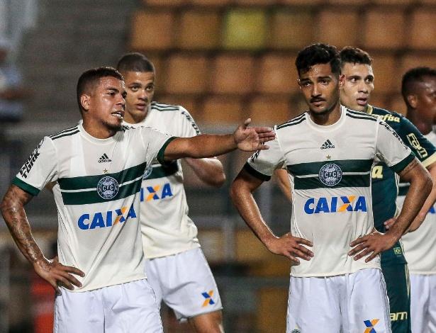 Jogadores na derrota para o Palmeiras: cobranças fortes da Organizada