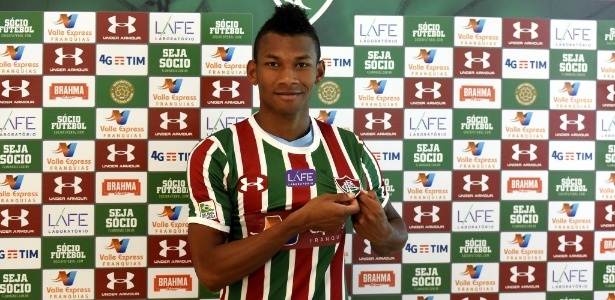 Cabezas com a camisa do Fluminense: uma cena que não tem se repetido muito - Mailson Santana/Fluminense