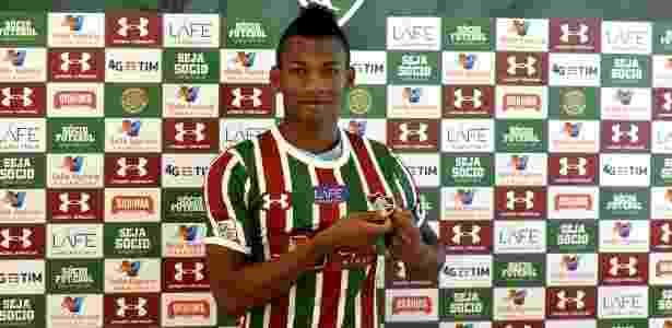 Equatoriano já vestiu a camisa do novo clube - Mailson Santana/Fluminense