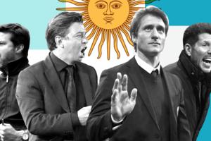 Argentina produz técnicos ex-jogadores. E os brasileiros?