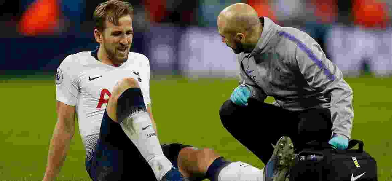 Harry Kane machucado lesão Tottenham - Ian Kingthon/AFP