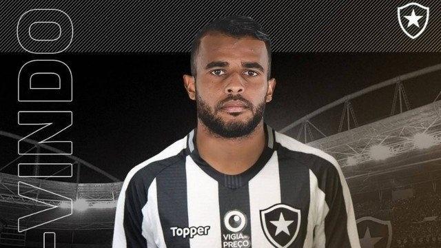 Alex Santana, volante do Botafogo