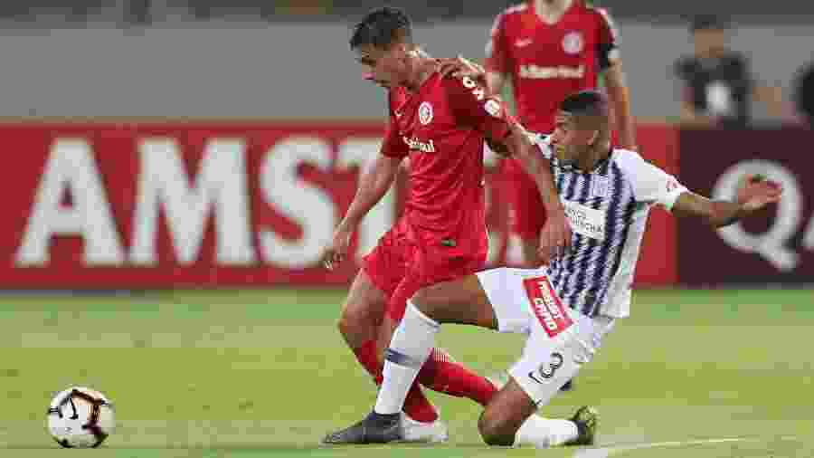 Sarrafiore agradou na oportundiade que recebeu contra o Alianza Lima, no peru - Guadalupe Pardo/Reuters