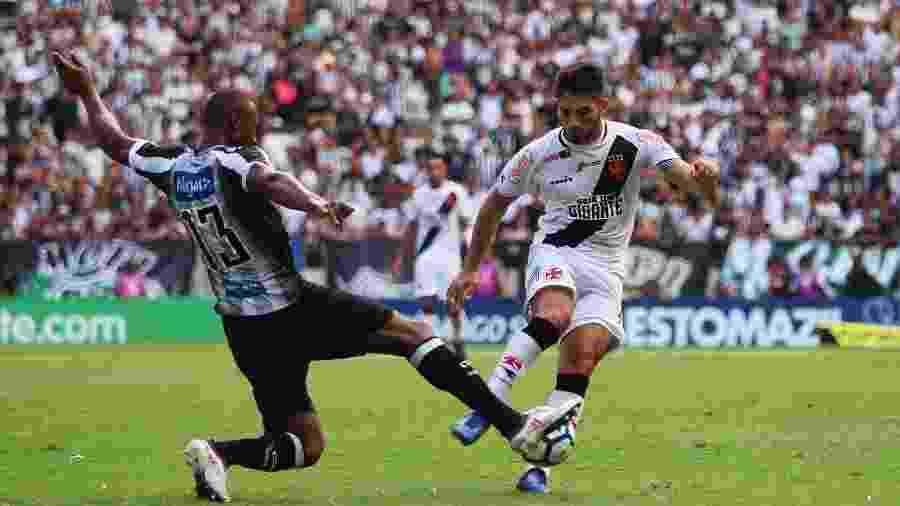 Vasco e Ceará se enfrentam hoje (13), às 19h15, em São Januário, pela 9ª rodada do Campeonato Brasileiro  - Carlos Gregório Júnior / Site oficial do Vasco