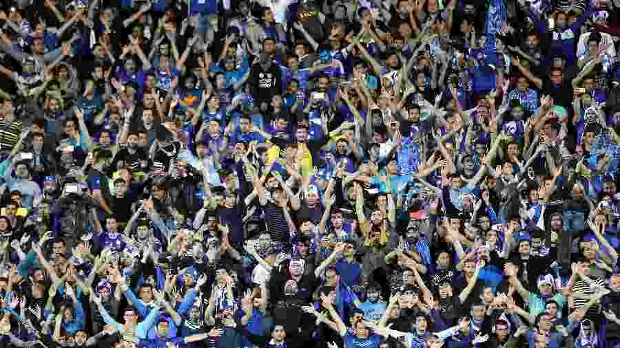 A torcida do Esteghlal - Getty Images