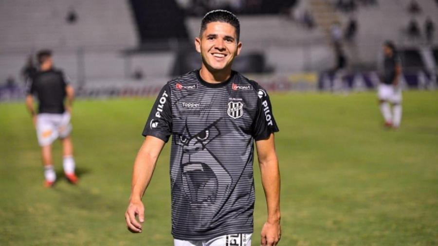 Diego Renan, ex-jogador da Ponte Preta - Divulgação/Ponte Preta