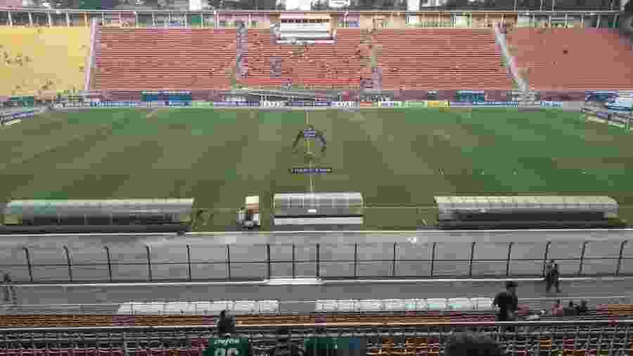 Estádio do Pacaembu será usado para receber pacientes com coronavírus - UOL Esporte