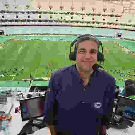 João Guilherme, narrador do Fox Sports - Tais Vilela/UOL