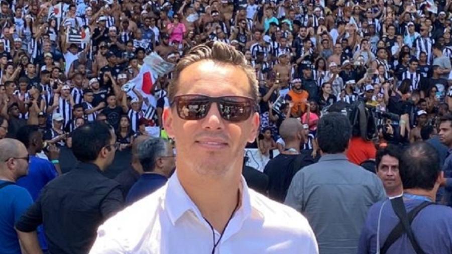 Empresário Marcos Leite, responsável por trazer Honda e Kalou para o Botafogo - Arquivo Pessoal