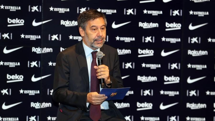 Josep Maria Bartomeu, presidente do Barcelona - Urbanandsport/NurPhoto via Getty Images