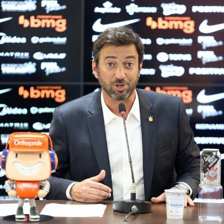 Duilio Monteiro Alves, presidente do Corinthians - Rodrigo Coca/Agência Corinthians