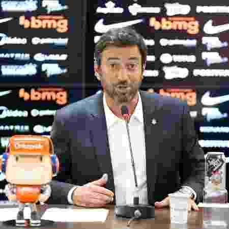 Duílio Monteiro Alves, presidente do Corinthians - Rodrigo Coca/Agência Corinthians