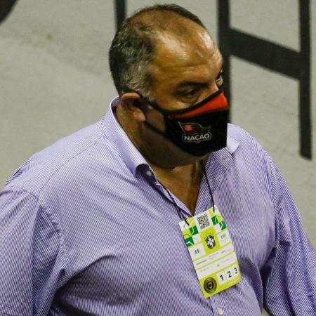 Vice-presidente de futebol do Flamengo, Marcos Braz - Rafael Vieira/AGIF