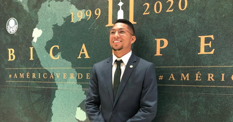 Palmeiras: Rony embarcando para o Mundial de Clubes no Qatar