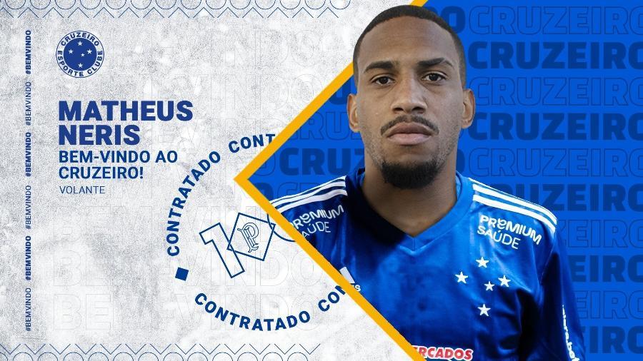 Além de Felipe Augusto, Matheus Neris também foi anunciado nesta manhã de sábado - Divulgação