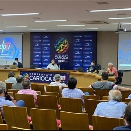 Reunião na Ferj acertou venda de direitos - Ivan Paulo/Ferj