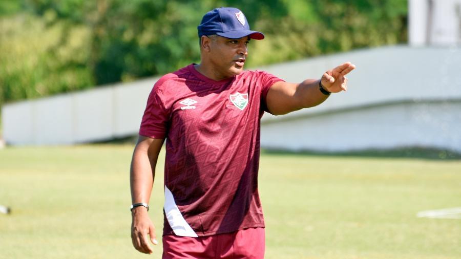 Roger Machado estreará pelo Fluminense em Fla-Flu pelo Campeonato Carioca - Mailson Santana/Fluminense FC