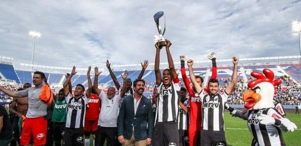 Atlético-MG conquistou a Florida Cup neste ano ao bater o Corinthians e o Schalke 04